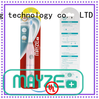 MAYZE High-quality braun rechargeable toothbrush device massage