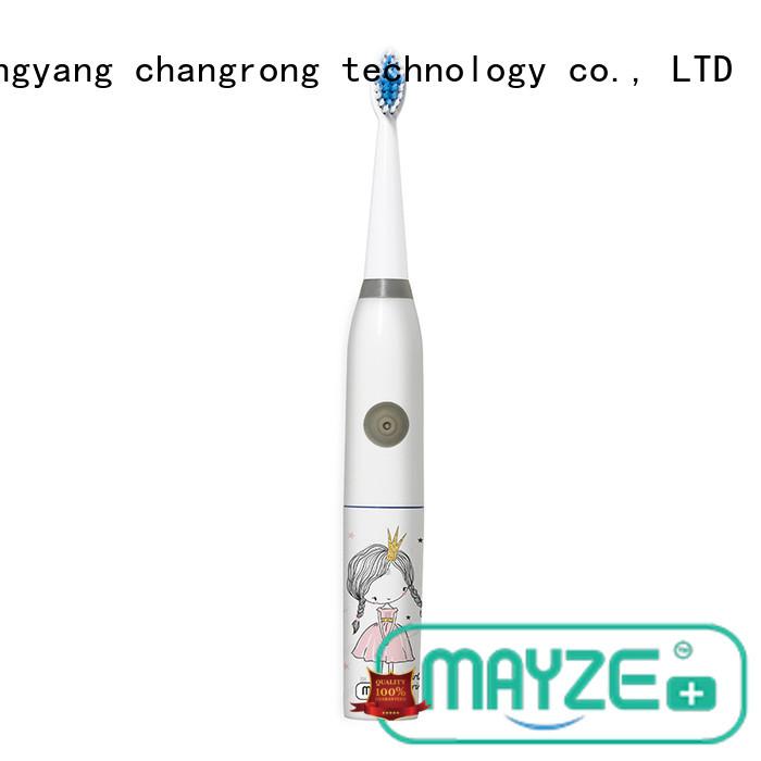 MAYZE electric motorised toothbrush equipment body care