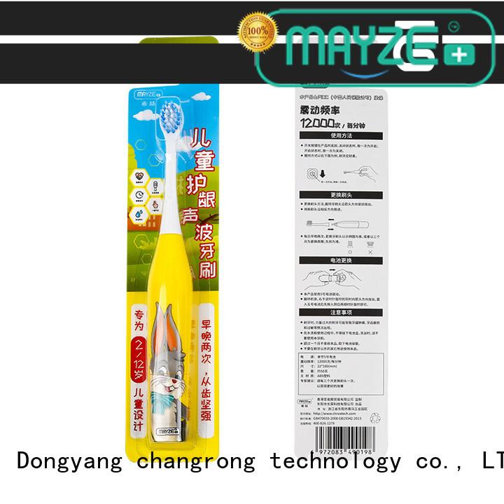 MAYZE motorised toothbrush products massage