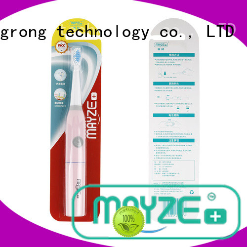 MAYZE good quality best quality electric toothbrush machine body care