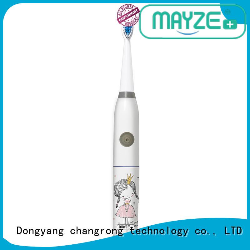 MAYZE motorised toothbrush machine massage