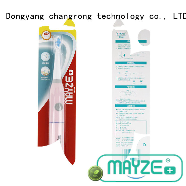 MAYZE best selling electric toothbrush products