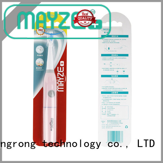 MAYZE rechargeable electric toothbrushes compare company massage
