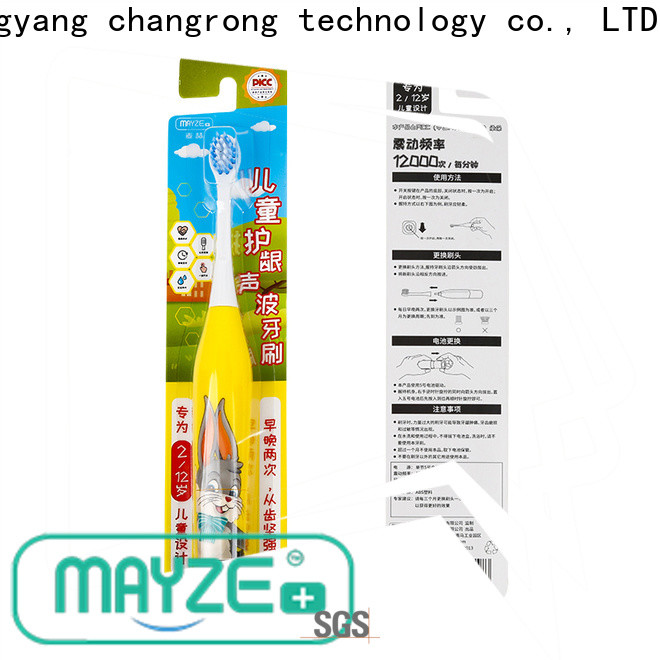 MAYZE most effective electric toothbrush factory body care