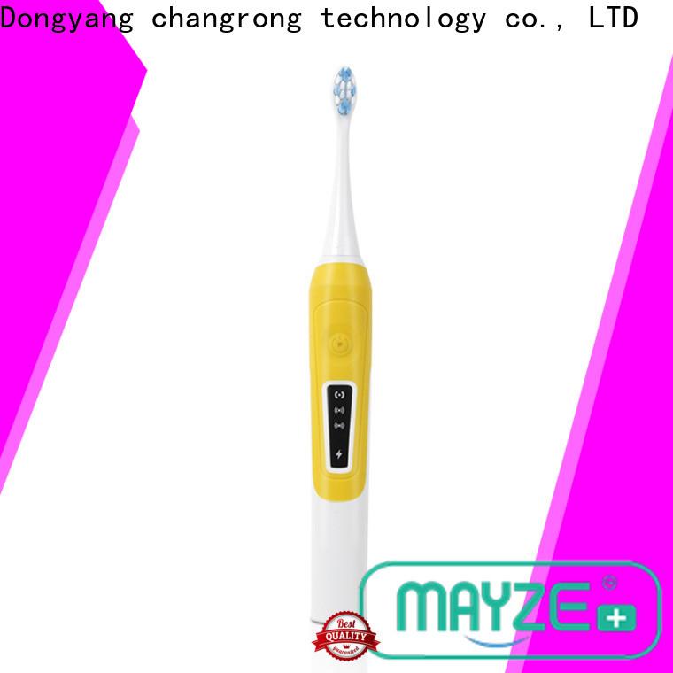 MAYZE power electric braun sonic toothbrush manufacturers