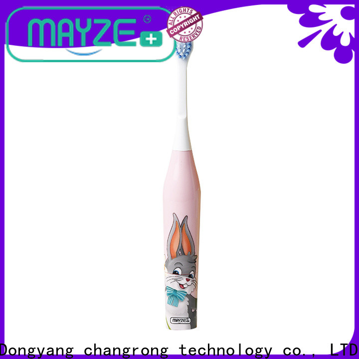 MAYZE oral b white 1000 device tooth