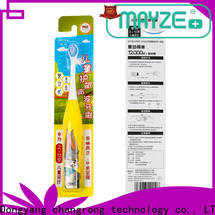 Custom best new electric toothbrush factory body care