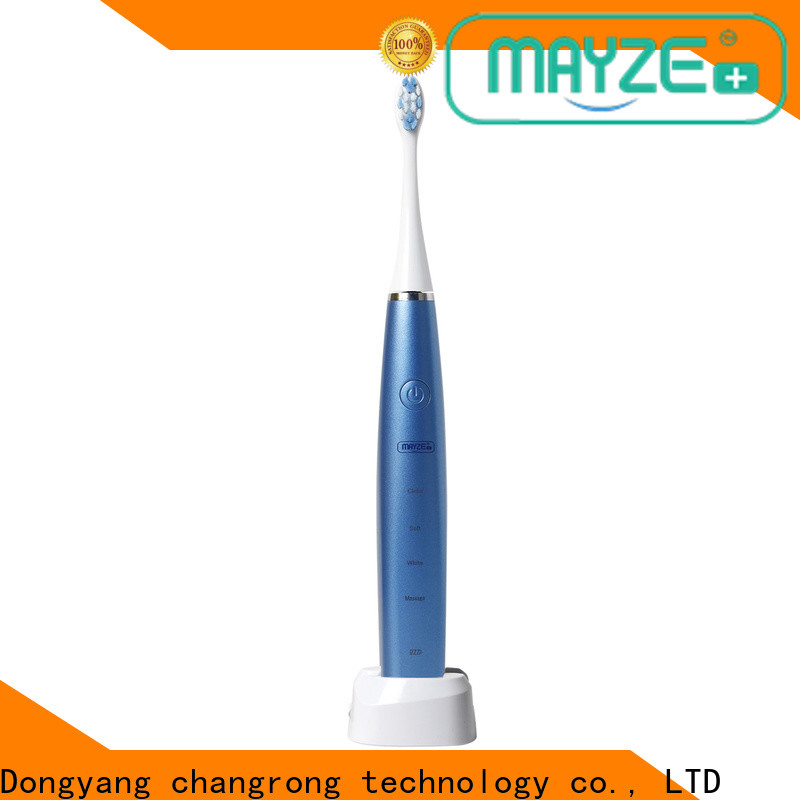 MAYZE rechargeable electric toothbrushes compare for business
