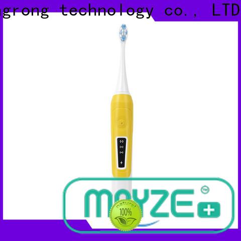 MAYZE electric best ultrasonic toothbrush equipment massage