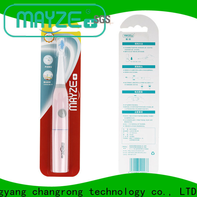 MAYZE Custom pretty electric toothbrush Suppliers tooth
