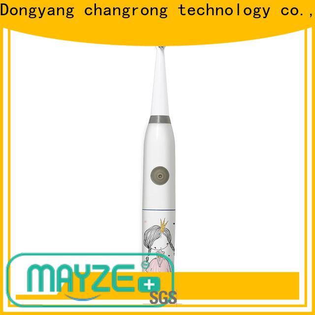 Latest spinbrush toothbrush company massage