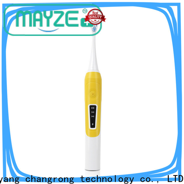 MAYZE battery powered electric toothbrush equipment