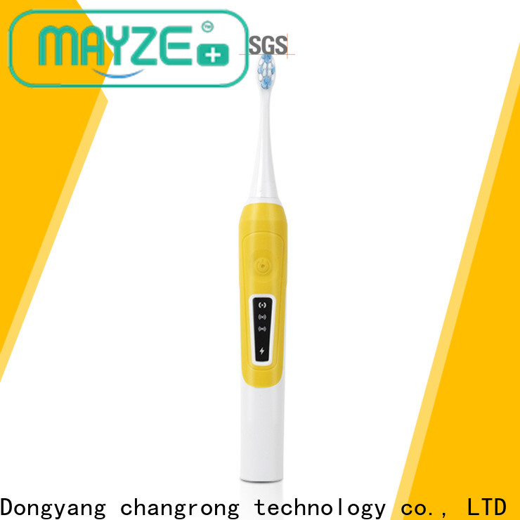 MAYZE popular top 3 electric toothbrushes factory body care