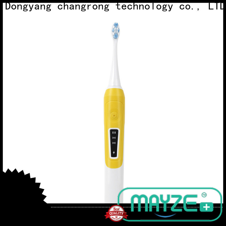MAYZE power electric best toothbrush reviews factory massage