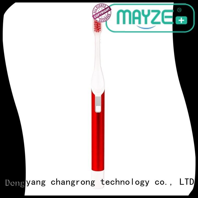 MAYZE women's electric toothbrush device massage